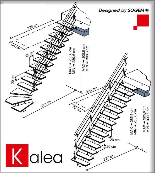 Trap berekenen simple trap met onderkwart with trap for Standaard trap afmetingen