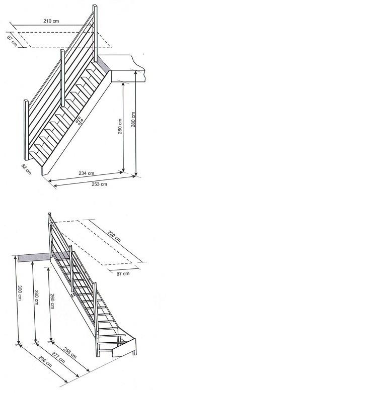 Steek trappen - De trap van de bistro ...