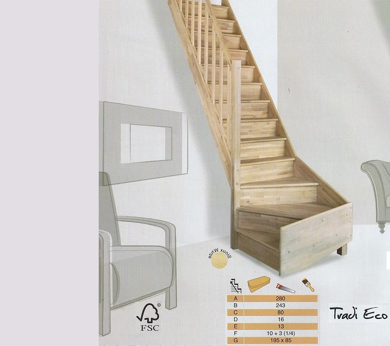 Trappen met een kwartslag for 2 kwart trap